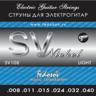 Струны для электрогитары Fedosov SV 108 8-40