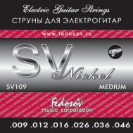 Струны для электрогитары Fedosov SV 109 9-46