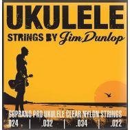 Струны для укулеле-сопрано Dunlop DUY301 Soprano PRO