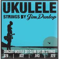 Струны для укулеле-концерт Dunlop DUY302 Concert