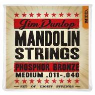 Струны для мандолины Dunlop DMP1140 MANDO-PHB MED