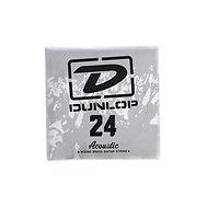 Струна для акустической гитары Dunlop DAB24 SINGLE.024 WOUND