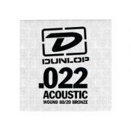 Струна для акустической гитары Dunlop DAB22 SINGLE.022 WOUND
