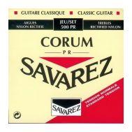 Струны для классической гитары Savarez Ref 500PR.