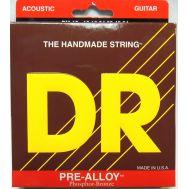 Струны для акустической гитары DR PM-12 (12-54) Pre-Alloy