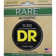 Струны для акустической гитары DR PRML-11 (11-50) Rare