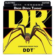 Струны для электрогитары DR DDT7-11 Drop-Down Tuning 7 String 11-65