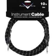 Кабель FENDER CUSTOM SHOP 10' INSTRUMENT CABLE BLACK TWEED