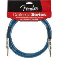 Кабель FENDER 20' CALIFORNIA INSTRUMENT CABLE LAKE PLACID BLUE