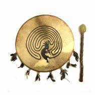 Шаманский бубен с рисунком  30 см (38240820)