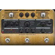 Процессор эффектов для акустической гитары Zoom AC - 3
