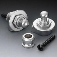 Держатель ремня (стреплок) Schaller 14010301 Security Lock chrome