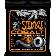 Струны для бас-гитары Ernie Ball 2733 Cobalt Bass Hybrid Slinky (45-105)