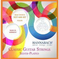 Струны для классической гитары Hannabach 600HT Silver-Plated Orange.