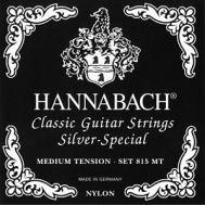 Струны для классической гитары Hannabach 815MT Black SILVER SPECIAL