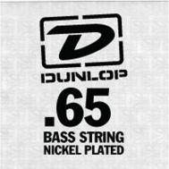 Струна для бас-гитары Dunlop DBS65 SNGLE .065 WND