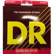 Струны для акустической гитары DR HA-11 Hi-Beam 80/20 (11-50)