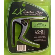 Olympia LX-C1 - цинковый каподастр серебристого цвета.
