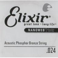 Струна для акустической гитары Elixir 14124 024