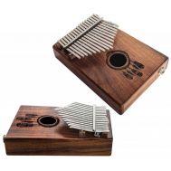 Калимба Terre Kalimba 17 keys 385411-mic со встроенным пьезозвукоснимателем.