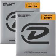 Струны для бас-гитары Dunlop DBSBS40120 Stainless Steel (40-120)