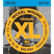 Струны для электрогитары D'addario EXL110+.