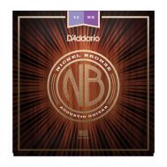 Струны для акустической гитары D'addario NB1152 11-52