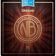 Струны для акустической гитары D'addario NB1253 12-53