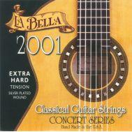 Струны для классической гитары LA BELLA 2001EH 2001 EXTRA HARD.