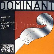Одиночная струна для скрипки размером 4/4 Ми (E) Thomastik 129 Dominant