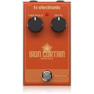 Напольная гитарная педаль эффекта шумоподавления TC ELECTRONIC IRON CURTAIN NOISE GATE