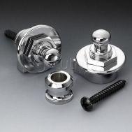 Крепление/держатель для ремня с блокировкой для гитары SCHALLER 14010201 (446) Security Lock
