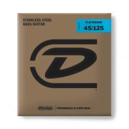 Струны для бас-гитары Dunlop DBFS45125 BASS FLATWOUND LG SCALE 45-125