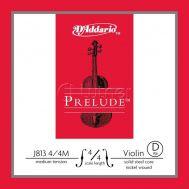 Одиночная струна для скрипки 4/4 D'Addario J813-4/4M Prelude (Ре) D