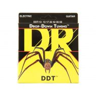 Струны для электрогитары DR DDT-13  13 - 65 (drop-down)