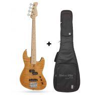 Бас-гитара Sire Marcus Miller U5 4st Alder NT с челом в комплекте
