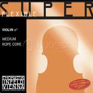 Одиночная струна Ми (Е) для скрипки 4/4 Thomastik 9 Super Flexible