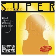 Одиночная струна А/Ля Thomastik 25 Super Flexible для виолончели размером 4/4