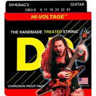 Струны для электрогитары DR Dimebag Darrell Hi-Voltage DBG-9 9-42