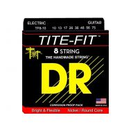 Струны для электрогитары DR Tite-Fit TF8-10 10-75 8-Strings