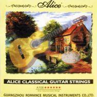 Струны для классической гитары Alice A-106