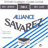 Струны для классической гитары Savarez 540J