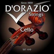 Струны для виолончели D'orazio 610