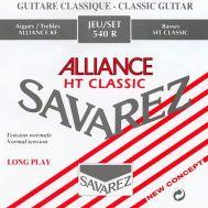 Струны для классической гитары Savarez 540R