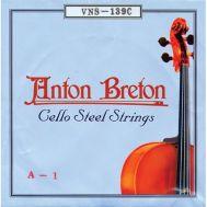Струны для виолончели A.Breton VNS-139С