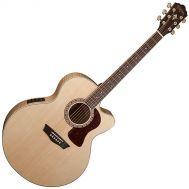 Электроакустическая гитара Washburn HJ40SCE